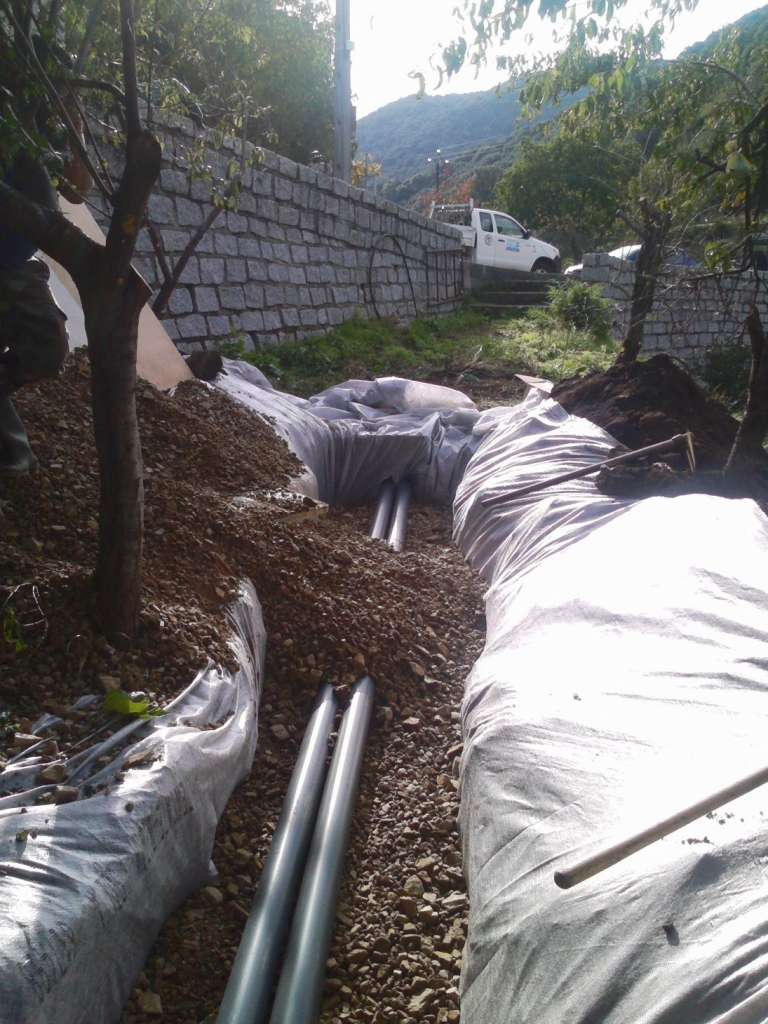 drainage 2 installation